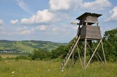Torre da caça Fotografia de Stock