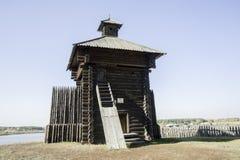 Torre da cadeia de Aramashevsky Nizhnyaya Sinyachikha foto de stock