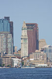 Torre da casa feita sob encomenda, Boston Fotografia de Stock Royalty Free