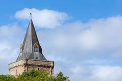 Torre da catedral de Dornoch Fotos de Stock