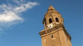 Torre da catedral de Manila, Filipinas imagem de stock royalty free