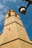 Torre da catedral de Tarragona Fotografia de Stock