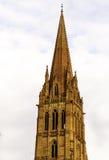 Torre da catedral em Melbourne Fotografia de Stock