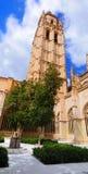 Torre da catedral, Segovia imagem de stock