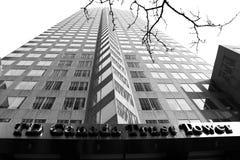 Torre da confiança de Canadá Foto de Stock