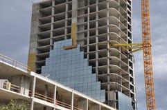 Torre da construção Fotografia de Stock Royalty Free