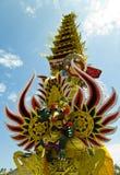 Torre da cremação do Balinese Imagens de Stock Royalty Free