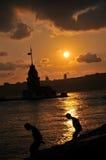 Torre da donzela Foto de Stock Royalty Free