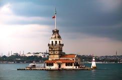 A torre da donzela Foto de Stock