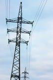 Torre da eletricidade fotografia de stock royalty free