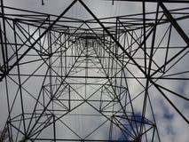 Torre da eletricidade Imagens de Stock Royalty Free