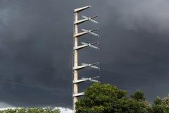 Torre da energia Fotos de Stock