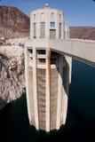 Torre da entrada da represa de Hoover Fotografia de Stock