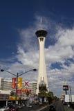 Torre da estratosfera em Las Vegas Fotografia de Stock