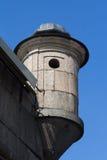 A torre da fortaleza Imagens de Stock Royalty Free