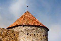 A torre da fortaleza Foto de Stock