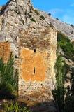 Torre da fortaleza antiga Foto de Stock Royalty Free