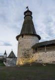 Torre da fortaleza de Pskov Imagem de Stock Royalty Free
