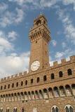 Torre da galeria de Uffizi fotos de stock royalty free