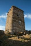 Torre da homenagem do castelo da féria Fotos de Stock Royalty Free
