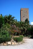 Torre da homenagem, Velez Malaga, Spain. Fotografia de Stock Royalty Free