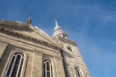 Torre da igreja Católica de Ste-Rosa de Lima Fotografia de Stock