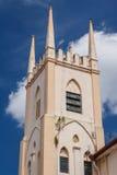 Torre da igreja Católica em Malacca foto de stock royalty free