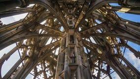 Torre da igreja de Ulm do interior imagem de stock