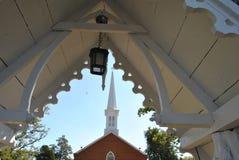 Torre da lanterna e da igreja Imagem de Stock