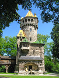 Torre da matriz em Landsberg foto de stock royalty free