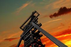 Torre da mina Fotos de Stock