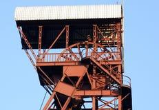Torre da mineração fotografia de stock