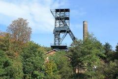 Torre da mineração em Ostrava imagens de stock