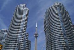 Torre da NC dentro na cidade, Toronto, Ontário, Canadá Fotos de Stock Royalty Free