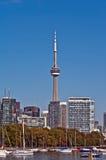 Torre da NC do panorama da arquitectura da cidade de Toronto Foto de Stock