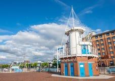 Torre da operação dos cais de Salford em Manchester fotografia de stock royalty free