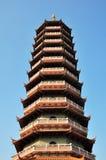 A torre da opinião de baixo ângulo Fotografia de Stock