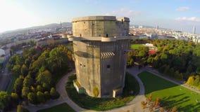 Torre da oposição em Viena, defesa de Luftwaffe durante a segunda guerra mundial filme