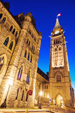 Torre da paz - Ottawa, Ontário, Canadá Foto de Stock Royalty Free