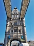 Torre da ponte Imagens de Stock Royalty Free