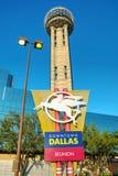 Torre da reunião em Dallas do centro, TX foto de stock royalty free