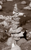 Torre da rocha Foto de Stock Royalty Free
