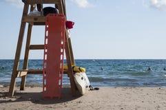 Torre da salva-vidas Fotos de Stock