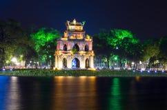 Torre da tartaruga na noite Imagem de Stock Royalty Free