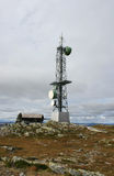 Torre da telecomunicação Imagens de Stock