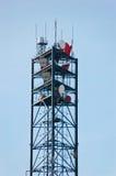 Torre da telecomunicação Foto de Stock Royalty Free