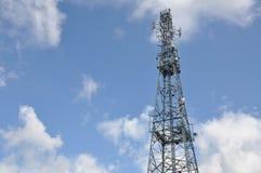 Torre da telecomunicação fotos de stock