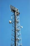 Torre da telecomunicação Imagens de Stock Royalty Free