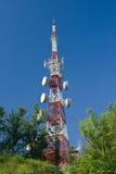 Torre da telecomunicação Fotos de Stock Royalty Free