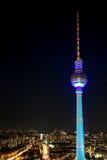 A torre da televisão em Berlim, Fotografia de Stock